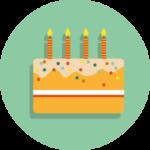 Icône anniversaire