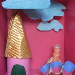 photo atelier d'arts plastiques lors d'interventions extérieures