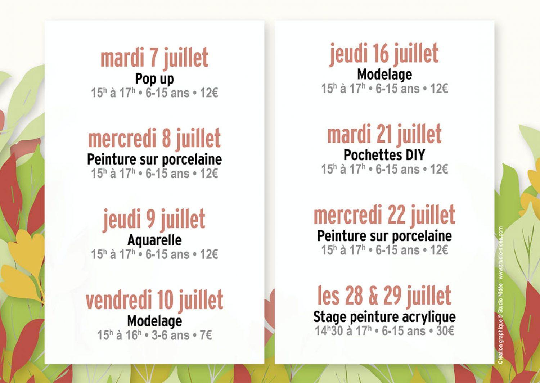 Ateliers été In Situ Charente Arts Plastiques