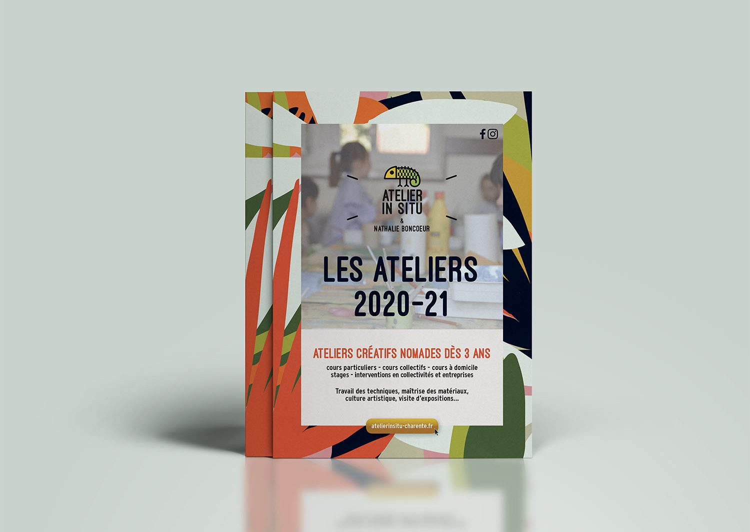 Flyer rentrée 2020 Atelier In Situ